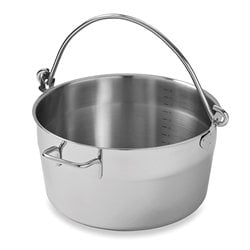 Bassine à confiture inox 30 cm Mathon