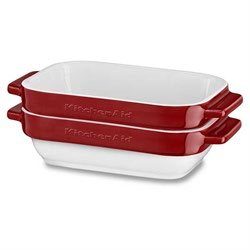 Set 2 mini plats en céramique 20 cm KBLR02MBER Kitchenaid