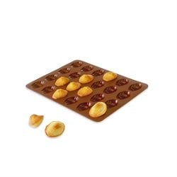 Flexi' Plaque silicone 24 mini-madeleines Mathon