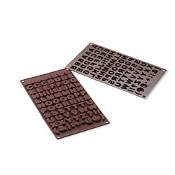 Moule chocolats ABC silicone