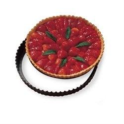 Anneau /à Tarte de P/âTisserie Coupeur Perfor/é Forme Ronde Mousse Cercle D/éCorateur de Dessert Moule /à G/âTeau 8 Pi/èCes
