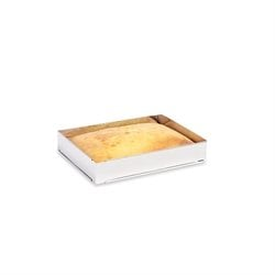 Rectangle à gâteau extensible en inox 25 à 46 cm Mathon