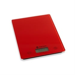 Balance de cuisine digitale rouge 5 kg Mathon