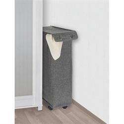 panier linge pliable blanc gris am nagement de l 39 espace organisation de la cuisine. Black Bedroom Furniture Sets. Home Design Ideas