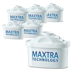 Pack 6 cartouches Maxtra dont 1 gratuite Brita france
