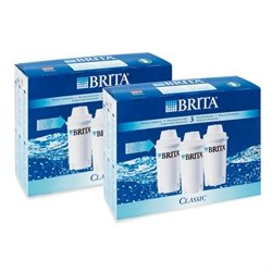 Pack de 6 cartouches Brita Classic Brita france
