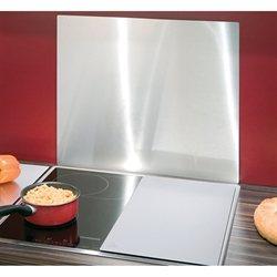 Protection plaques de cuisson cr dence organisation de for Plaque murale inox