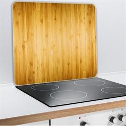 Protection plaques de cuisson cr dence organisation de for Plaque de protection cuisine murale