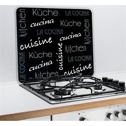 protection plaques de cuisson cr dence organisation de. Black Bedroom Furniture Sets. Home Design Ideas