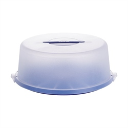 Cloche alimentaire bleu transparent 33 cm Westmark