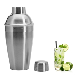 Shaker à cocktail en 3 parties acier inoxydable 0,5 L Westmark