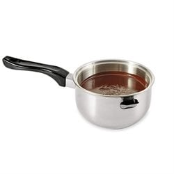 Casserole bain-marie inox induction Mathon