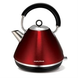 Bouilloire en inox Accents 1,5 L rouge M102004EE Morphy Richards