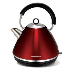 Bouilloire en inox Accents 1,5 L rouge Morphy Richards