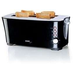 Grille pain cool touch 2 tranches XL 1350 W Domo