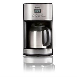 Cafetière isotherme programmable 10 tasses DO474K Domo