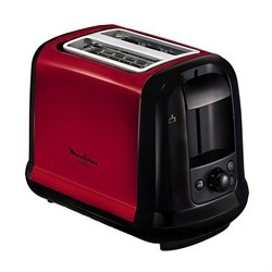 Grille-pain subito 2 tranches 850 W rouge Moulinex