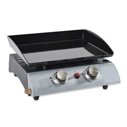 Plancha gaz 2 brûleurs Kitchen Chef Kitchen Chef Professional