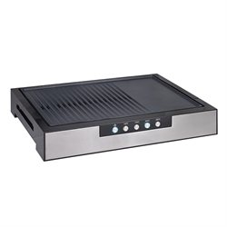 Plancha grill de table 48,2 cm 2000 W MB-G08 Kitchen Chef Professional