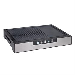 Plancha grill de table 48,2 cm 2000 W Kitchen Chef Professional