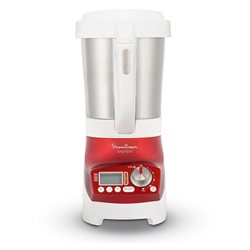 Blender chauffant soup'n co 1100 W rouge Moulinex