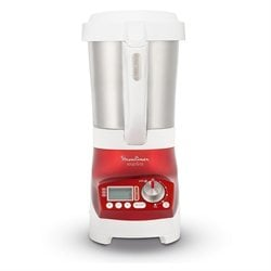 Blender chauffant soup'n co rouge 1100 W LM906110 Moulinex