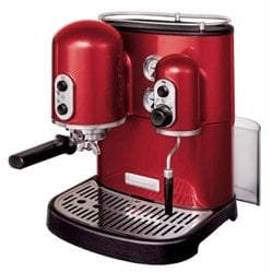 Machine à Café Espresso Artisan rouge empire 5KES2102EER kitchenaid