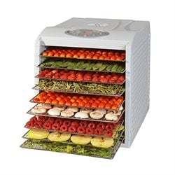 Déshydrateur programmable 9 plateaux 500 W KitchenChef Professional Kitchen Chef Professional