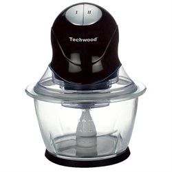 Mini-hachoir bol en verre 1 L Techwood