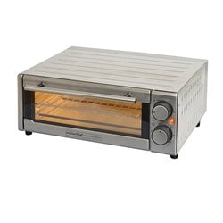 Four à pizza professionnel inox 1300 W GP-15AL-G Kitchen Chef Professional
