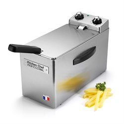 Friteuse professionnelle 4 L 2500 W RFN 4 Kitchen Chef Professional