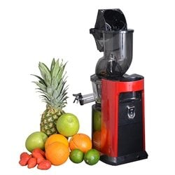 Extracteur de jus JUICE PRO PLUS rouge Kitchen Chef Professional