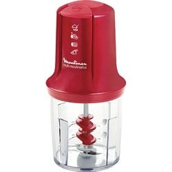 Multimoulinette Mini hachoir 3 en 1 rouge AT714G32 Moulinex