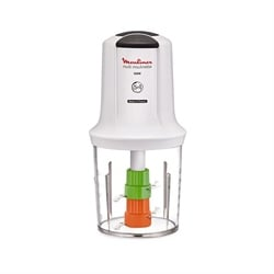 Multimoulinette Mini hachoir 5 en 1 blanc AT722110 Moulinex