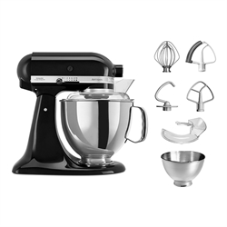 Robot artisan Noir 5KSM175PS Kitchenaid