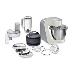 Robot multifonctions Kitchen Machine MUM5 1000 W gris MUM58L20 Bosch