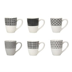 Set 6 mugs collection Komae Ard'Time