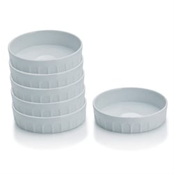 6 coupelles en porcelaine 12 cm