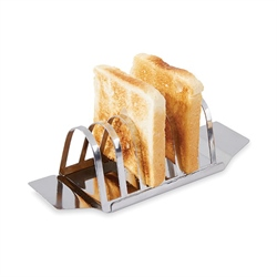 Porte toasts 6 tranches en inox Mathon