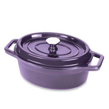 cocotte en fonte ovale 29 cm 3 5 l aubergine mathon cocottes et roasters cuisson. Black Bedroom Furniture Sets. Home Design Ideas