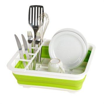 Egouttoir vaisselle pliable vert egouttoir vaisselle for Accessoire vaisselle