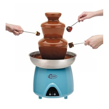Fontaine chocolat 230 w bestron raclettes fondues et for Appareil cuisine conviviale