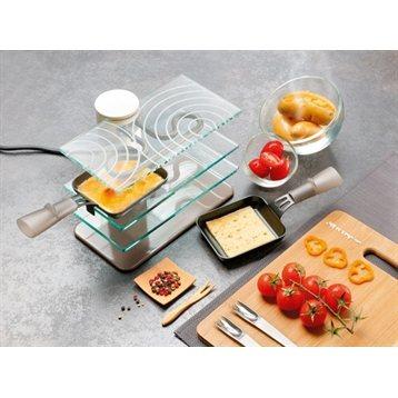 Appareil raclette transparent 2 personnes lagrange for Cuisine conviviale appareil