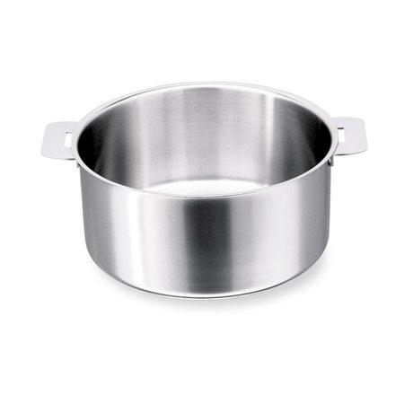 casserole inox mutine 14 cm 1 1 l cristel casseroles mat riel de cuisson. Black Bedroom Furniture Sets. Home Design Ideas