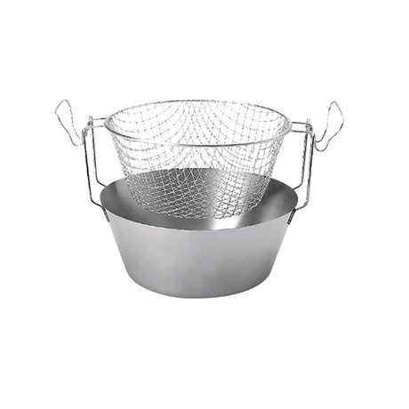 Friteuse traditionnelle inox 20cm Artame