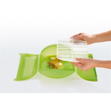 Papillote silicone avec grille 27,5 cm Lekue