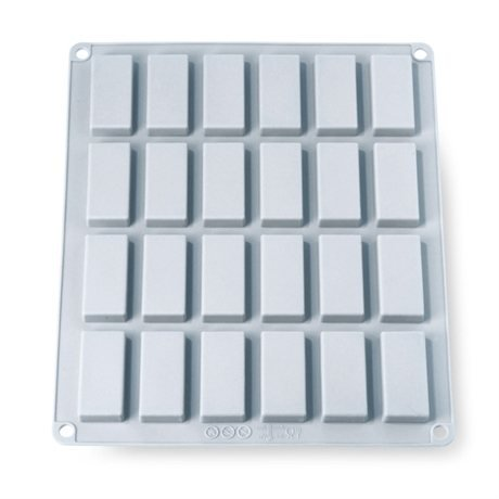 Grande Flexi'Plaque silicone 24 mini-financiers Mathon