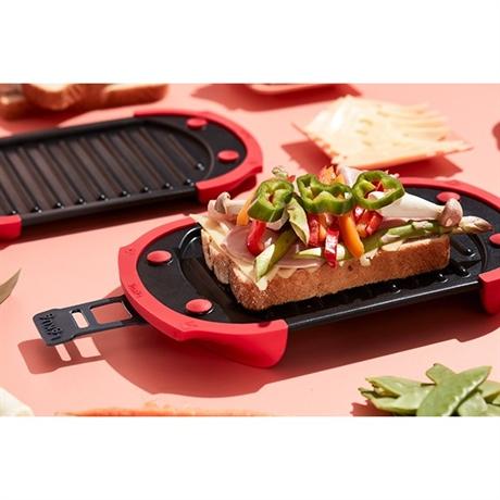 grill pour micro ondes lekue cuisson au micro ondes mat riel de cuisson. Black Bedroom Furniture Sets. Home Design Ideas