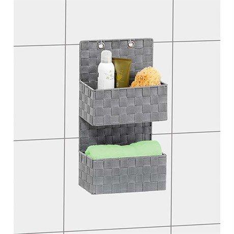 organisateur de salle de bain suspendre am nagement de. Black Bedroom Furniture Sets. Home Design Ideas