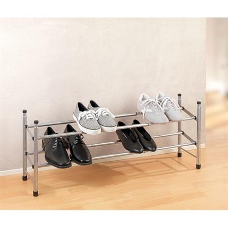 etag re chaussures t lescopique click am nagement de l 39 espace organisation de la cuisine. Black Bedroom Furniture Sets. Home Design Ideas